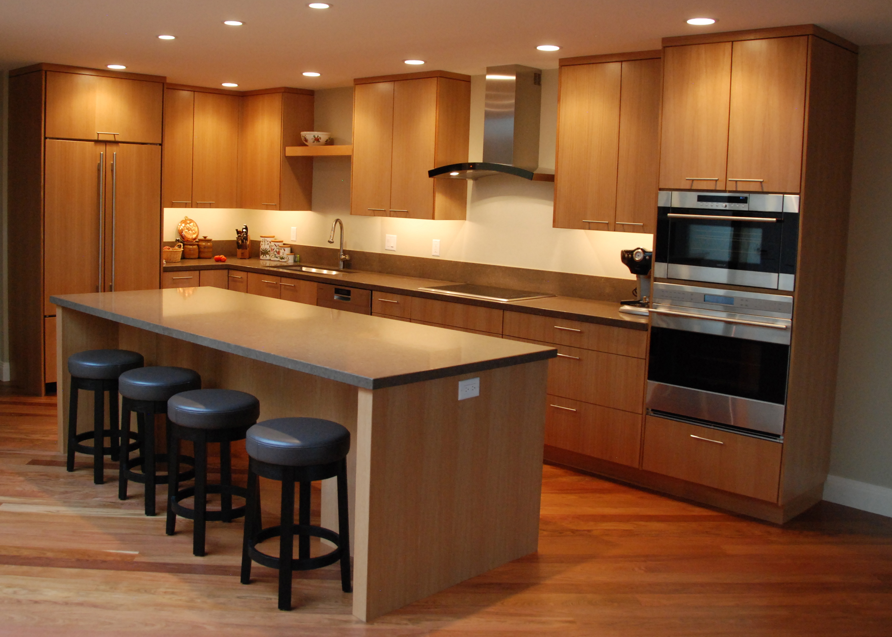 kitchen omega large contemporary cabinets tarin walnut products